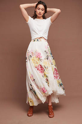 Love Sam Chantilly Maxi Skirt $365 thestylecure.com