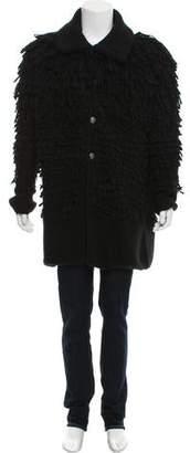 Maison Margiela Alpaca Shearling Jacket