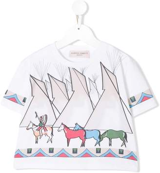 Alberta Ferretti Kids printed T-shirt