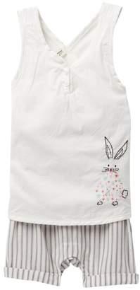ED Ellen Degeneres Bunny Romper (Baby Girls)