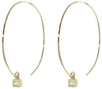 Tate Cube Hoop Earrings