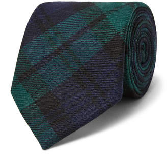 Polo Ralph Lauren 7.5cm Madison Checked Wool-Twill Tie