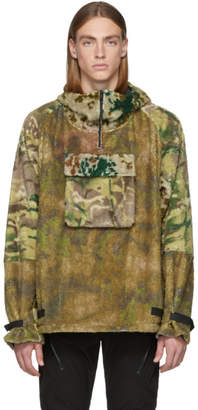 1017 Alyx 9SM Multicolor Camo Polar Fleece Hernik Jacket