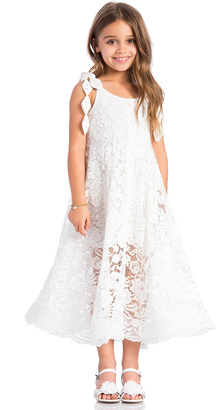 Alexis Elizabeth Shoulder Tie Dress $143 thestylecure.com