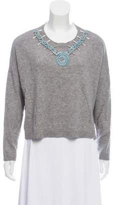 The Kooples Embellished Wool Sweater