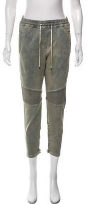 Balmain Cropped High-Rise Jeans