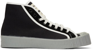 Spalwart Black Special Mid CSGS Sneakers
