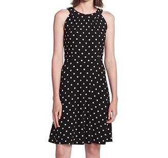 Tommy Hilfiger Women's Black Multi Jersey Dress