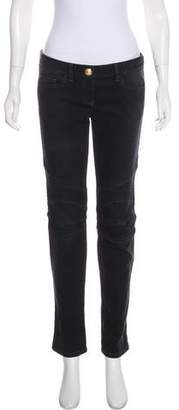 Balmain Low-Rise Straight-Leg Jeans