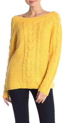 Rebecca Minkoff Juna Knit Off-the-Shoulder Sweater