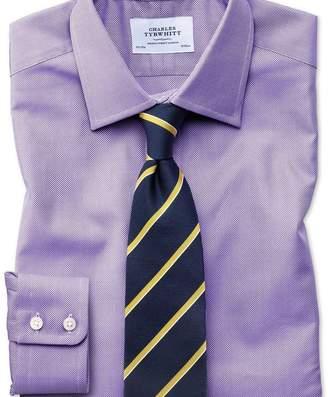 Charles Tyrwhitt Classic fit Egyptian cotton royal Oxford lilac shirt