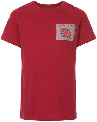 Kent & Curwen flag patch T-shirt