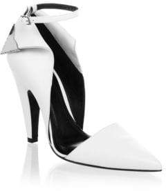 CALVIN KLEIN 205W39NYC Two-Toned Ankle-Strap Pumps