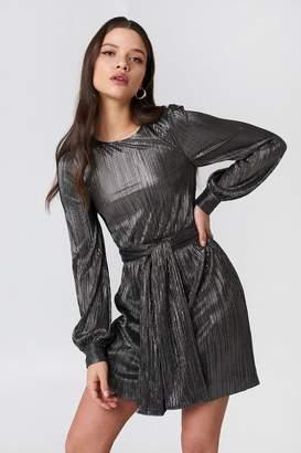 For Love & Lemons Marion Bell Sleeve Mini Dress