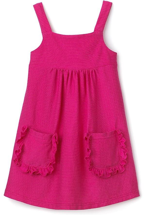 Splendid Littles Girlsl' Pinstripe Jersey Dress - Sizes 4-6X