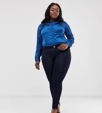 Junarose zip front skinny jeans