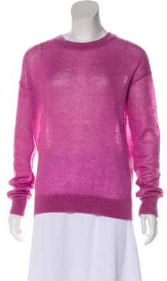 MiH Jeans Knit Scoop Neck Long Sleeve Sweater