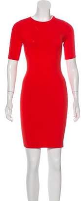 Opening Ceremony Short Sleeve Bodycon Mini Dress