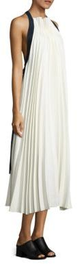 3.1 Phillip Lim Pleated Open-Back Maxi Dress $950 thestylecure.com
