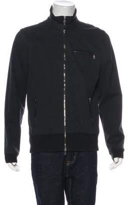 John Varvatos Zip-Up Bomber Jacket