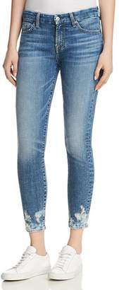 7 For All Mankind The Ankle Skinny Jeans in Desert Oasis 2