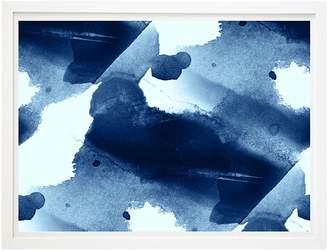 Beach Lane Navy Blues III Framed Print, 60x80cm