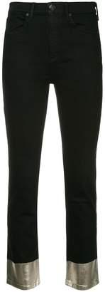 Rag & Bone mid rise cropped jeans