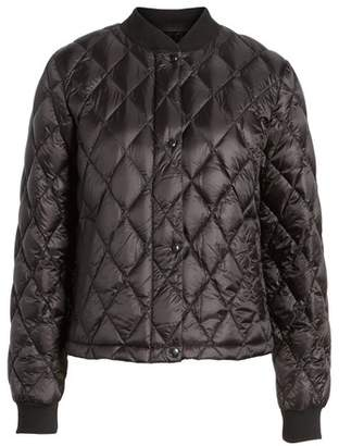 Cole Haan Quilted Down Bomber Jacket