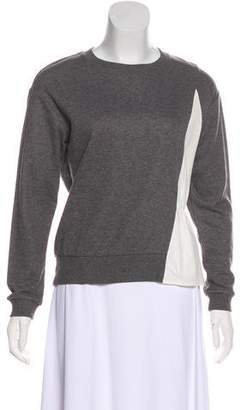 Comptoir des Cotonniers Colorblock Knit Sweater