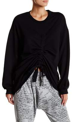 TOV Long Sleeve Adjustable Sweatshirt