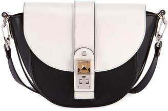 Proenza Schouler Ps1 Two-Tone Saddle Shoulder Bag