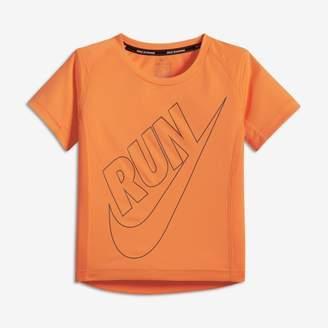 Nike Dri-FIT Miler Younger Kids'(Boys') T-Shirt