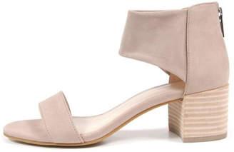 Pelle Moda Beige Suede Sandal
