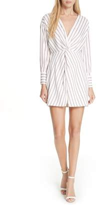 Nicholas Stripe Twist Front Dress