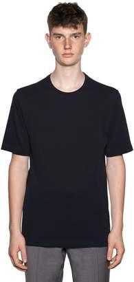 Ermenegildo Zegna Techmerino Wash & Go Wool T-Shirt