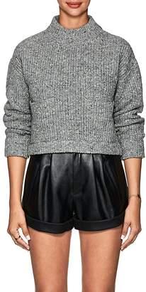 Philosophy di Lorenzo Serafini Women's Wool-Cashmere Crop Sweater