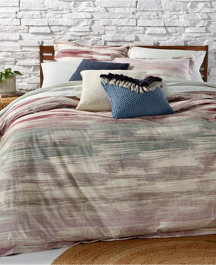 Midnight Brushstrokes 3-Pc. King Comforter Set Bedding