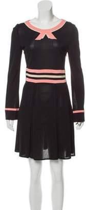 Marc Jacobs Long Sleeve Mini Dress Black Long Sleeve Mini Dress