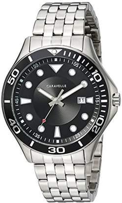 Bulova Caravelle Men's Quartz Stainless Steel Watch