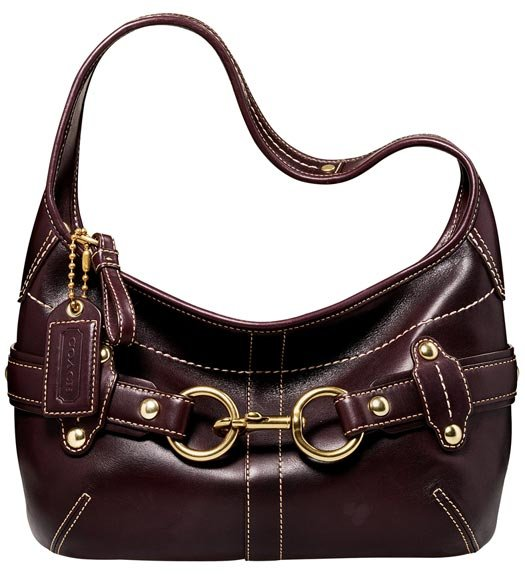 Coach Ergo Belted Leather Small Hobo