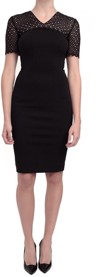 Stella McCartney Eyelet Dress - Black