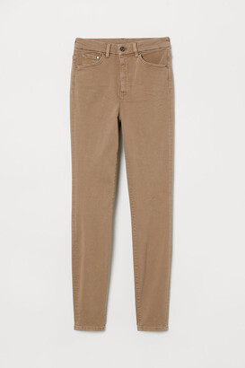 H&M Embrace High Ankle Jeans - Beige