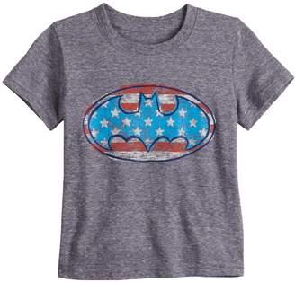 9c983b56 Toddler Boy Jumping Beans DC Comics Batman American Flag Logo Graphic Tee