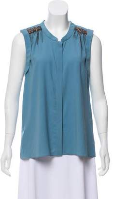 10767aa303bd9 Leifsdottir Sleeveless Embellished Top