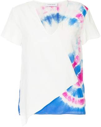 CNC Costume National (シーエヌシー コスチューム ナショナル) - Costume National tie-dye V-neck T-shirt
