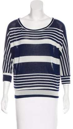 Needle & Thread Striped Long Sleeve Top