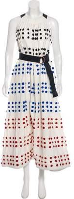 Tibi Halter Maxi Dress