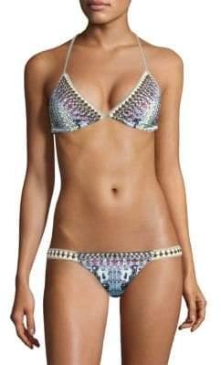 Camilla From Rio With Love Crochet Triangle Bikini Set