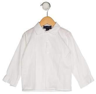 Oscar de la Renta Boys' Collared Button-Up Shirt