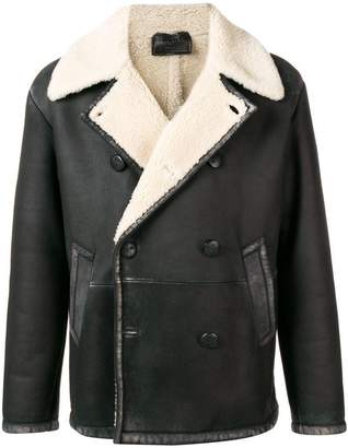 Prada shearling collar jacket